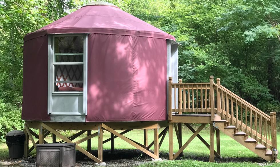 The Highlander Western Yurt