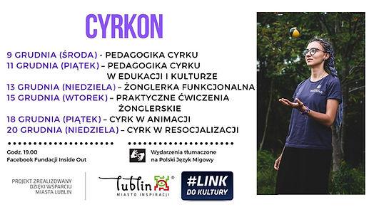 CyrkON – poznaj pedagogikę cyrku