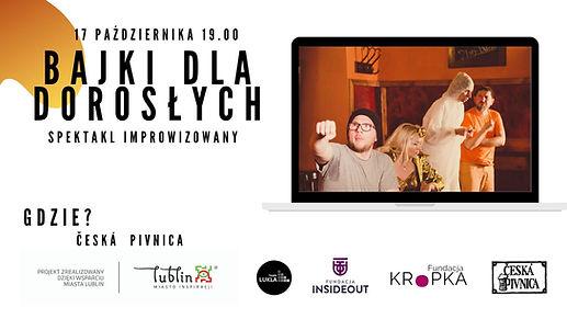 Teatr Lukla: Bajki dla dorosłych - spektakl impro