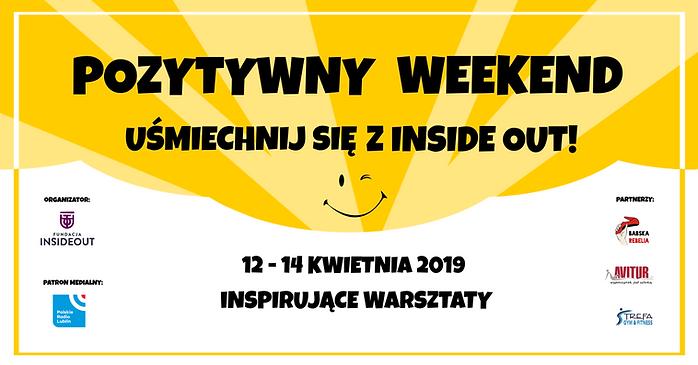 Pozytywny weekend Uśmiechnij się z Inside Out Inspirujące warsztaty