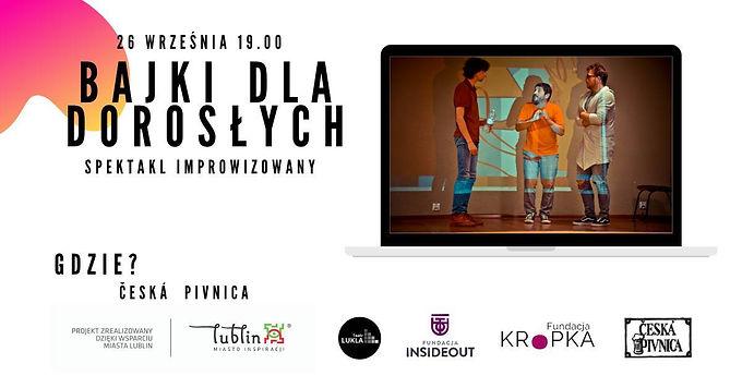 Spektakl improwizowany Teatru Lukla Bajki dla dorosłych