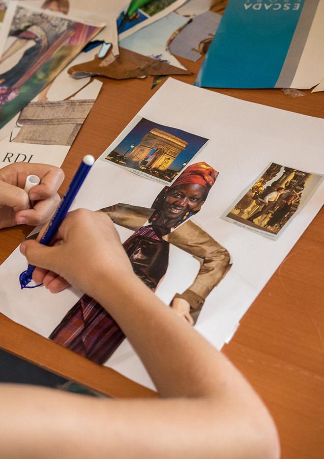 Tworzenie kolażu ze zdjęć.