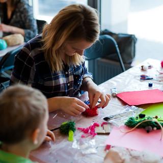 Warsztaty plastyczne dla dzieci i rodziców
