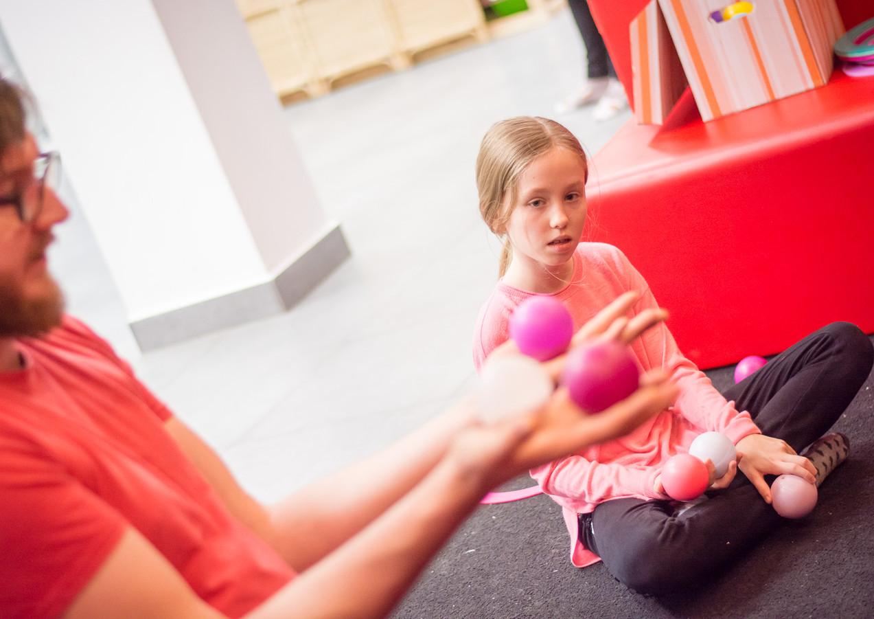 Warsztaty żonglerskie