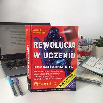 ,,Rewolucja w uczeniu'' - recenzja książki Jeannette Vos oraz Gordon Dryden