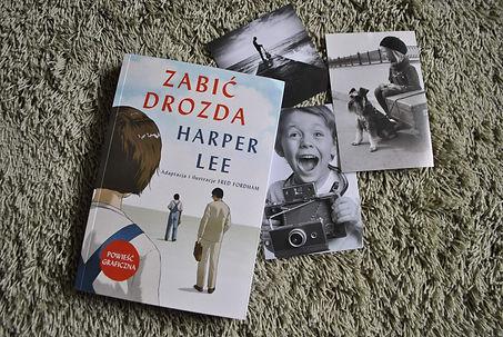,,Zabić Drozda'' Harper Lee Recenzja powieści graficznej z Wydawnictwa Jaguar