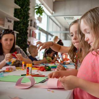 Warsztaty platyczne dla dzieci i rodziców.