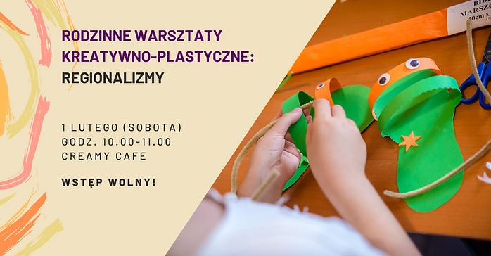 Warsztaty w Creamy Cafe Warsztaty kreatywno-plastyczne dla dzieci wraz z rodzicami oraz warsztaty żonglerskie dla dorosłych