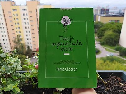 """""""Twoje wspaniałe życie"""" Recenzja książki Pemy Chödrön"""
