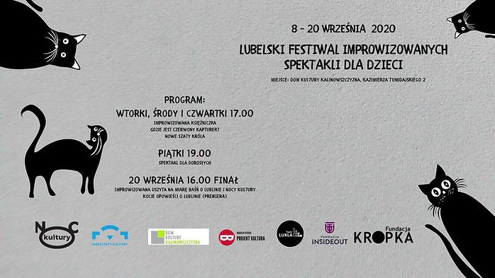 Lubelski Festiwal Improwizowanych Spektakli Dla Dzieci wrzesień 2020