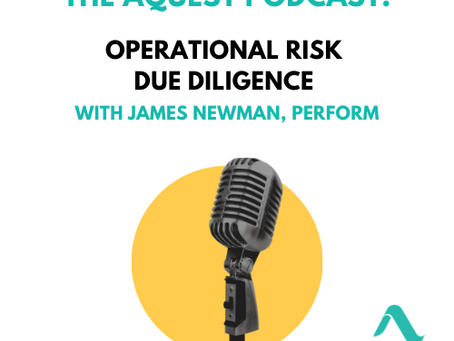 [PODCAST] Operational Risk Due Diligence with James Newman, PerfORM
