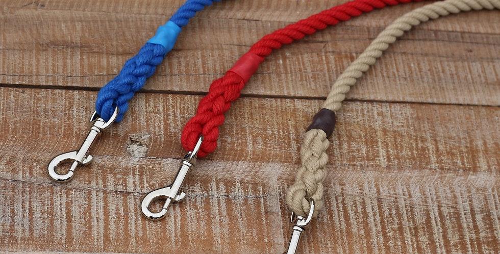 Marine rope leads