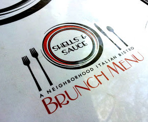 Brunching it at Shells and Sauce