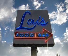 Getting Happy at Lou's Food Bar (Sunnyside)