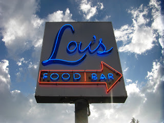 Getting Happy at Lou's Food Bar (Sunnyside)