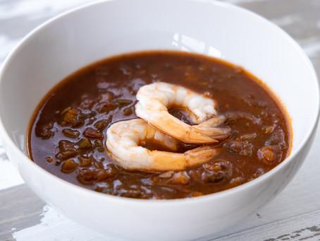 Seafood Gumbo (Paleo, Whole-30, Dairy-free, Gluten-free)