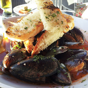Pizza Republica - Showing Off Their Mussels