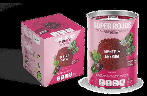 SUPER ROJOS - MENTE Y ENERGIA