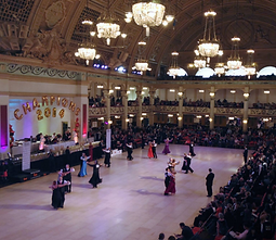 Blackpool Winter Gardens Ballroom stars of tomorrow championships