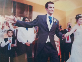 That special Wedding dance