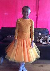 Dance junior ballroom dress hire