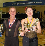 Dancing winners competition trophys gowns dresses ballroom dancing in Reading waltz quick step tango cha cha cha samba jive