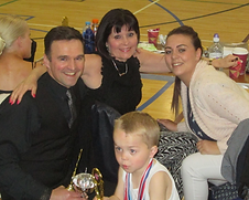 competition all ages family  ballroom dancing in Reading waltz quick step tango cha cha cha samba jive