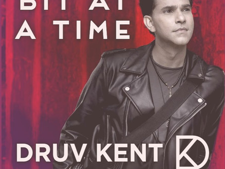 Druv Kent's electronica infused track 'Bit At A Time' is about loss of innocence!