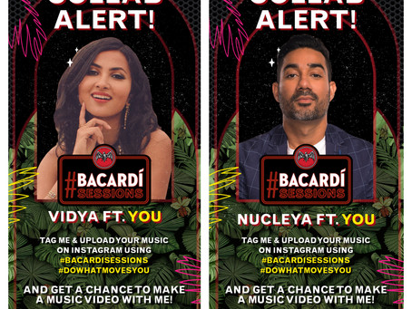 Vidya Vox, DJ Nucleya to discover, collaborate with upcoming artists for BACARDÍ Sessions Season 4