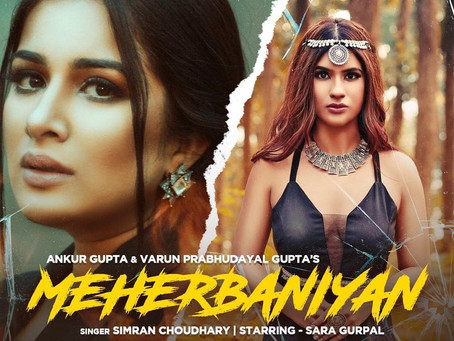 The Voice of India second runner up Simran Choudhary releases her latest single 'Meherbaniyan'