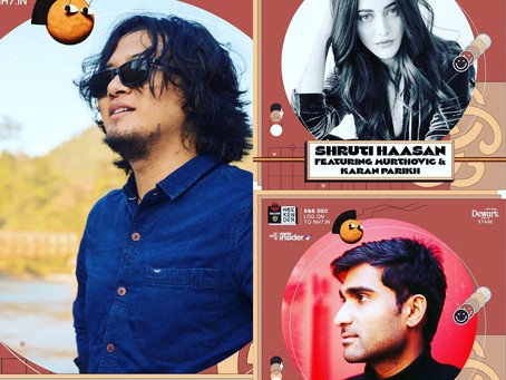 BACARDÍ NH7 Weekender: Shruti Haasan, Taba Chake, Prateek Kuhad to double up fun at DEWAR'S Stage!