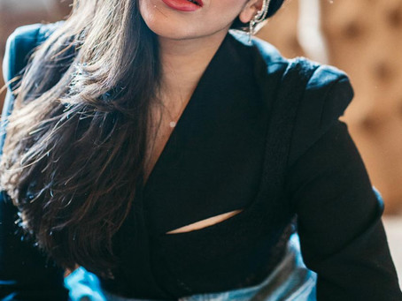 Singer Raveena Mehta, the official female voice of Rahul Jain's composition 'Keh Na Saku'