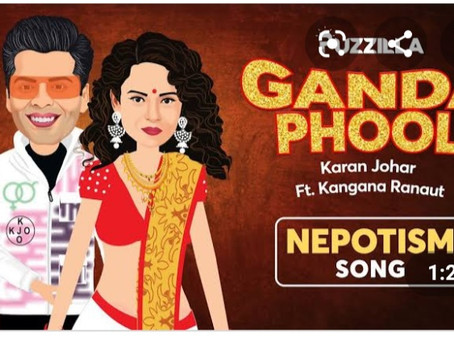 This Nepotism song grabs attention for kickass musical banter between Kangana and KJo!