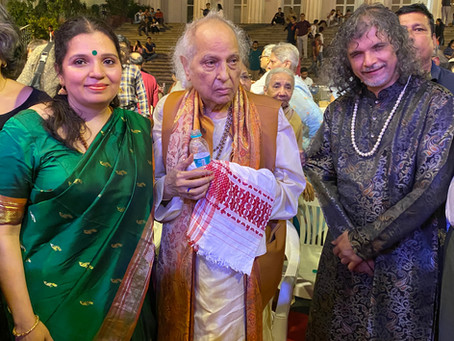 Kala Ramnath performs at Mumbai Sanskruti 2020