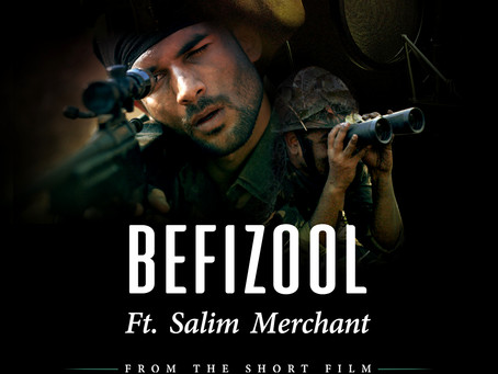 Befizool is my tribute to our nation's values, soldiers and our desire for peace: Salim Merchant