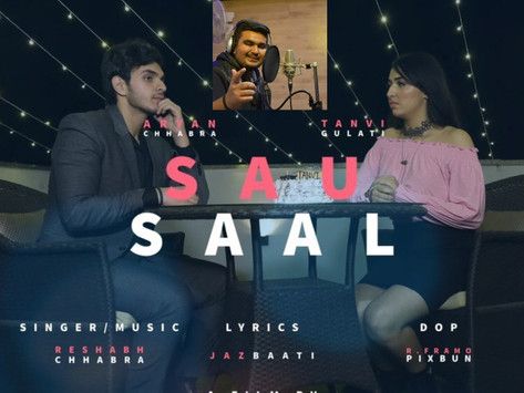 Reshabh Chhabra's new single 'Sau Saal' gets 'unmatched' response; credits brother and director!
