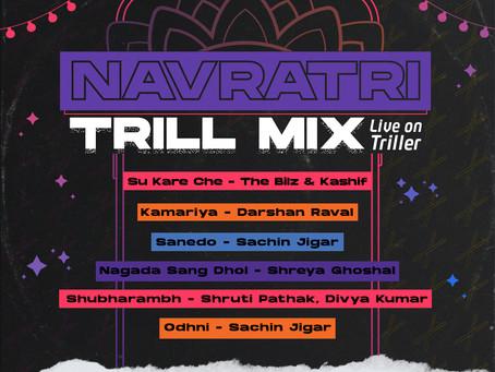 Triller enlivens Navratri spirit through virtual, music, dance and dandiya celebration!