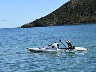 Tasman Kayaker Leaves Lord Howe Island – Next Stop New Zealand