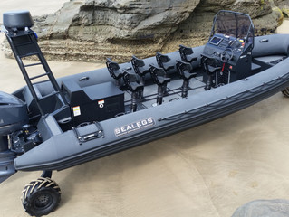 Sealegs Releases Worlds Largest Amphibious RIB