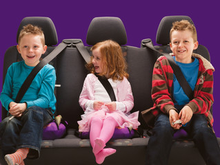 Compact & Portable Booster Seat Ideal for Travelling Parents