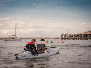 Trans Tasman Kayak Crossing Attempt Underway