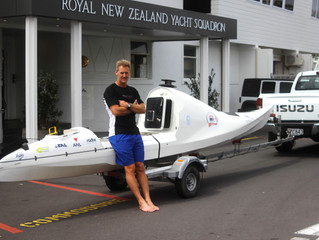 New Zealand or Bust – Kayaker Attempts Trans Tasman Crossing