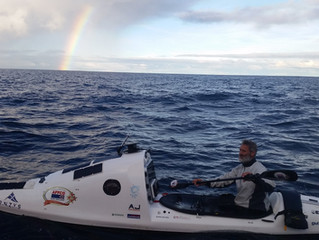 180Km to Go - NZ Almost Within Sight for Tasman Kayaker