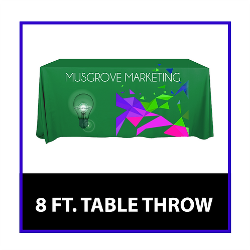 8 FT Table Throw