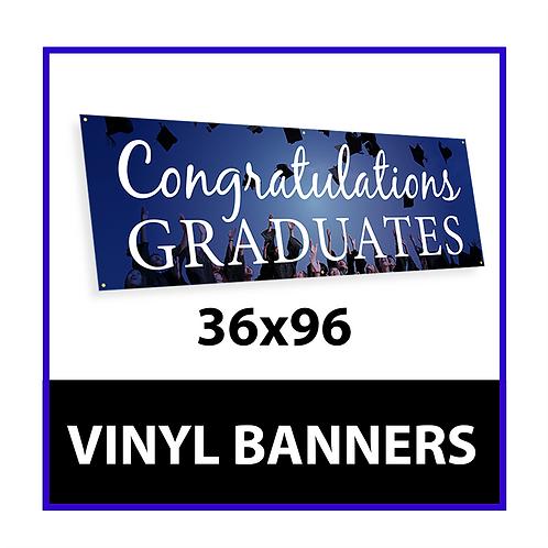 3ft x 8ft Vinyl Banner