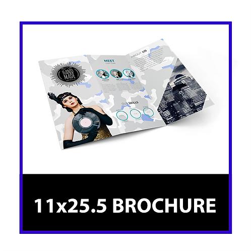 11x25.5 Brochure