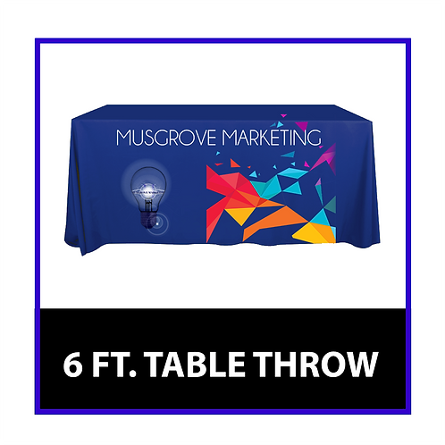 6 FT Table Throw