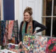 Jessica Jessie De Salis Silk Scarves Textile Design Manchester New York Manhattan