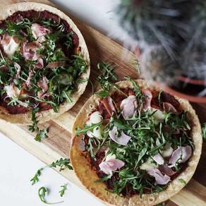 Glutenfri mozzarella pizza