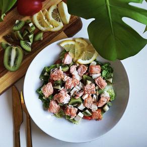 En frisk vårsalat